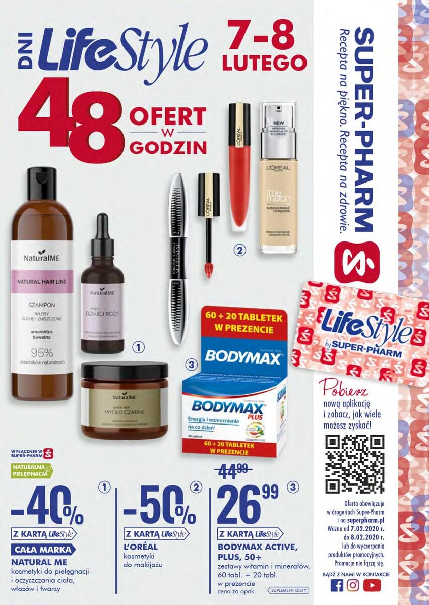 Gazetka Super-Pharm - Dni LifeStyle - 48 ofert w 48h