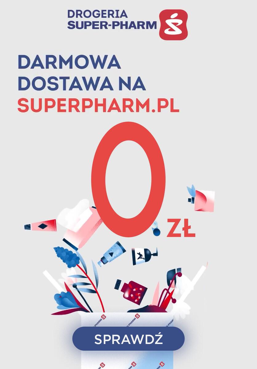Gazetka Super-Pharm - DARMOWA DOSTAWA
