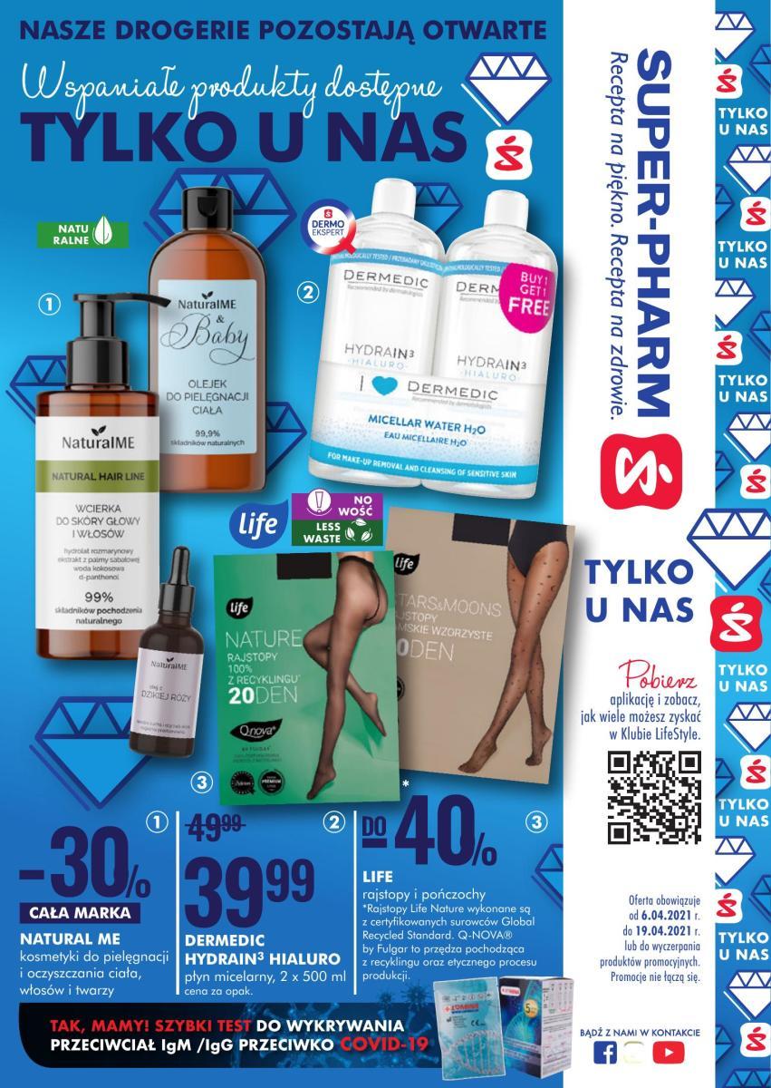 Gazetka Super-Pharm - Wspaniałe produkty dostępne tylko u nas