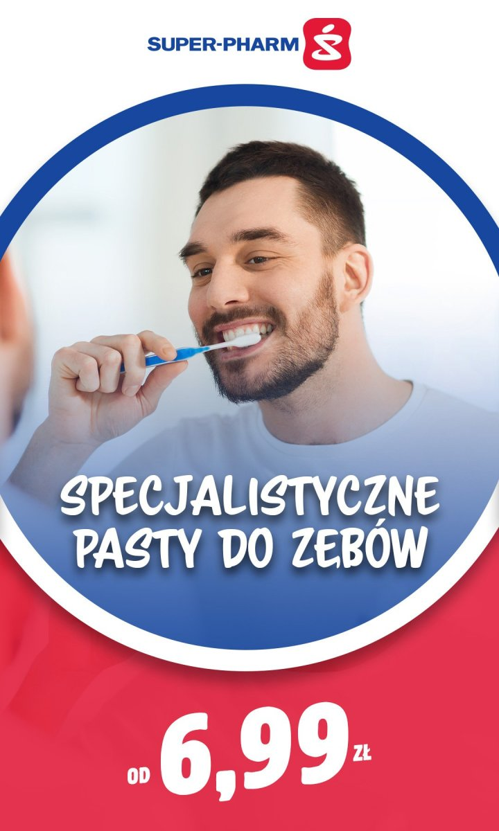 Gazetka Super-Pharm - Specjalistyczne pasty do zębów od 6,99 zł