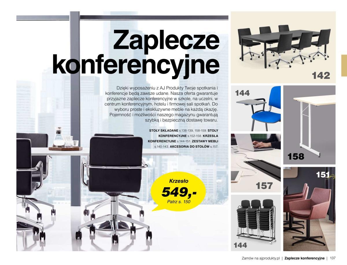 Gazetka AJ Produkty - Zaplecze konferencyjne - Katalog Lato/Jesień 2020