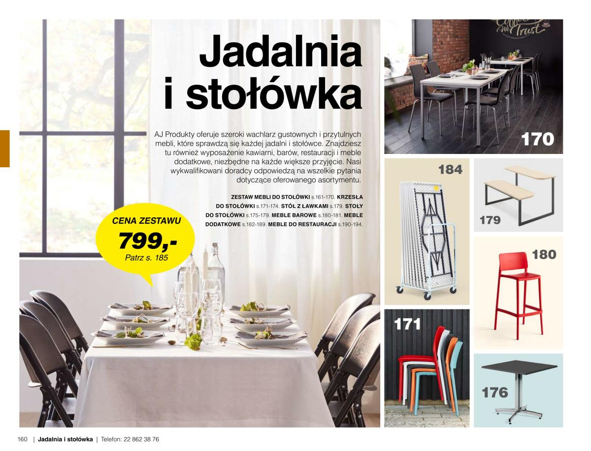Gazetka AJ Produkty - Jadalnia i stołówka - Katalog Lato/Jesień 2020