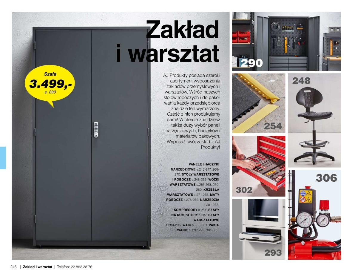 Gazetka AJ Produkty - Zakład i warsztat - Katalog Lato/Jesień 2020