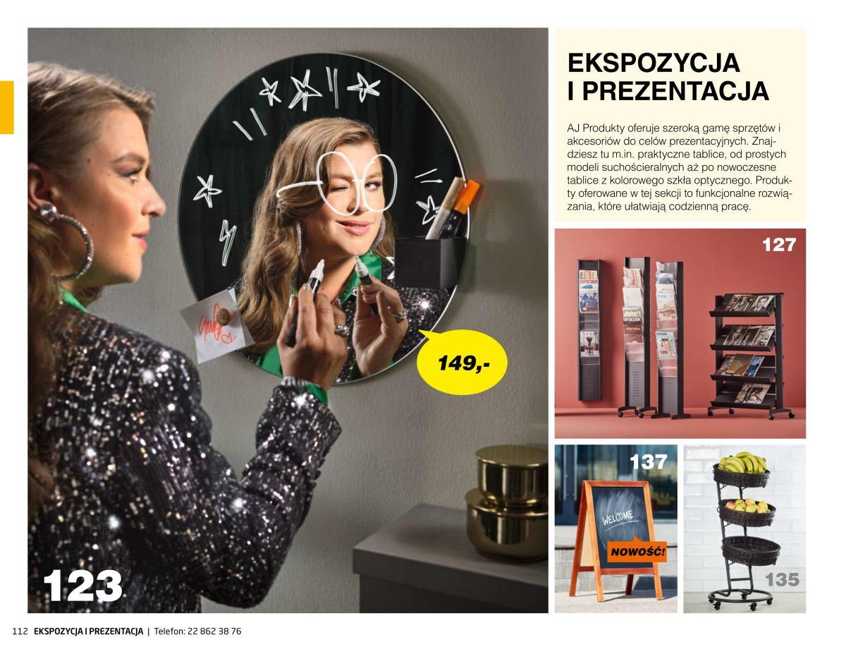 Gazetka AJ Produkty - Ekspozycja i prezentacja - Katalog Zima 2021