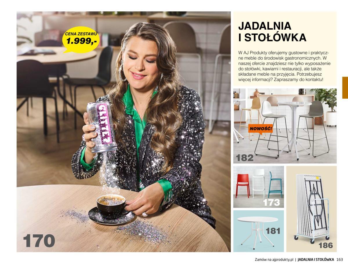 Gazetka AJ Produkty - Jadalnia i stołówka - Katalog Jesień 2020