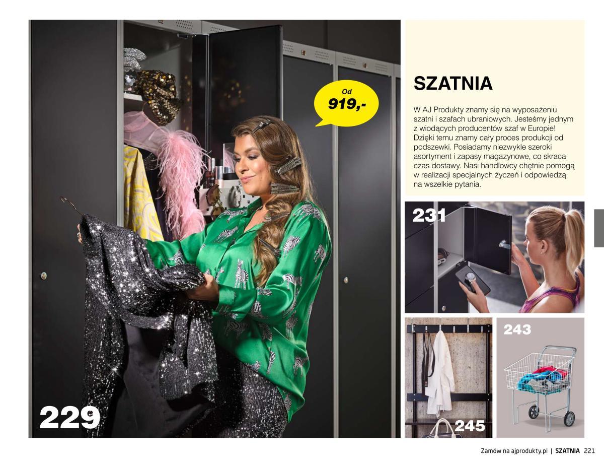 Gazetka AJ Produkty - Szatnia - Katalog Jesień 2020