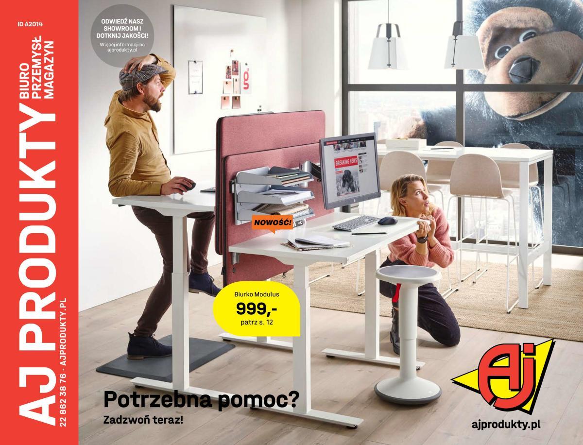 Gazetka AJ Produkty - Nowy katalog Biuro. Sprawdź
