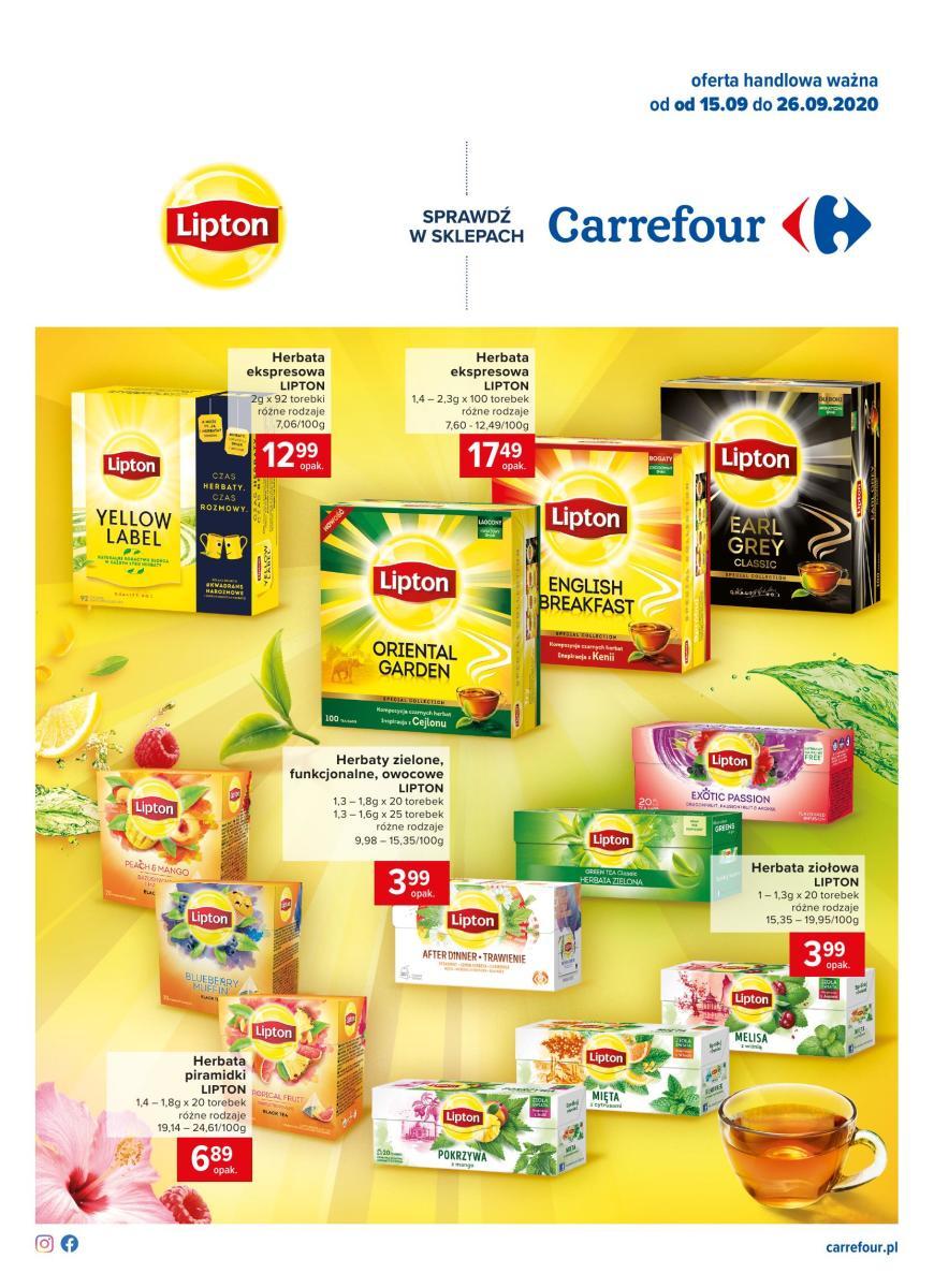 Gazetka Carrefour - Na chłodne wieczory