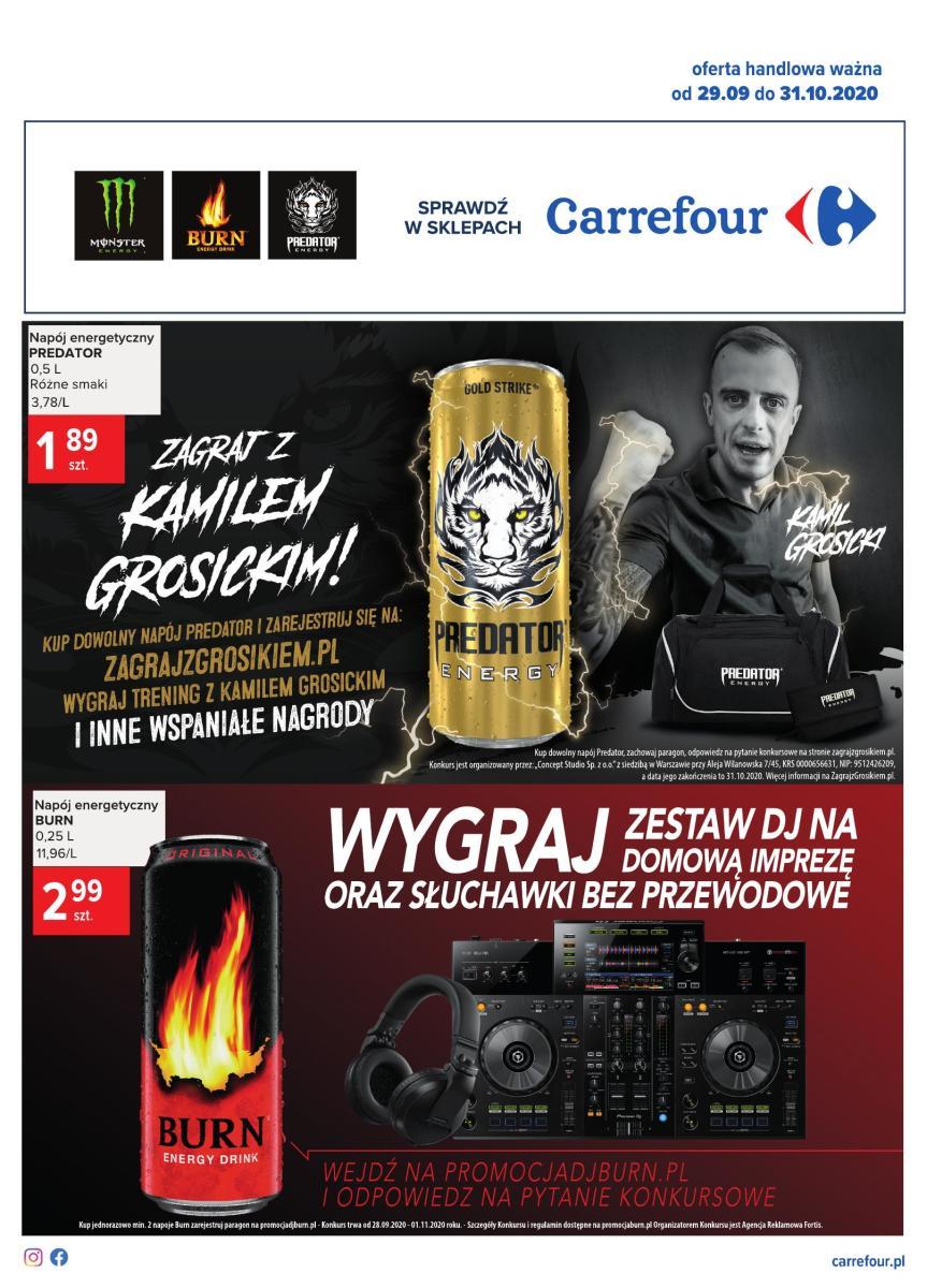 Gazetka Carrefour - Dawka energii