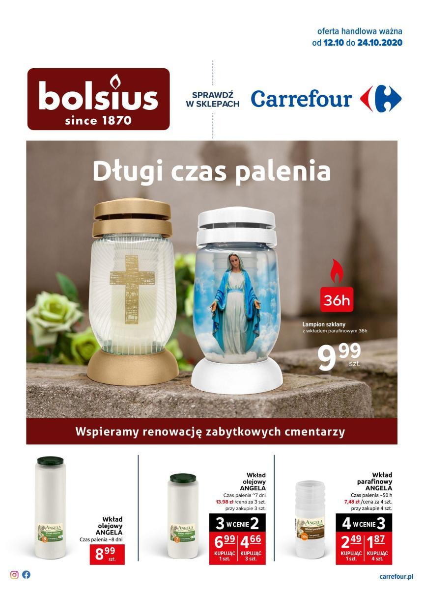 Gazetka Carrefour - Światełko pamięci