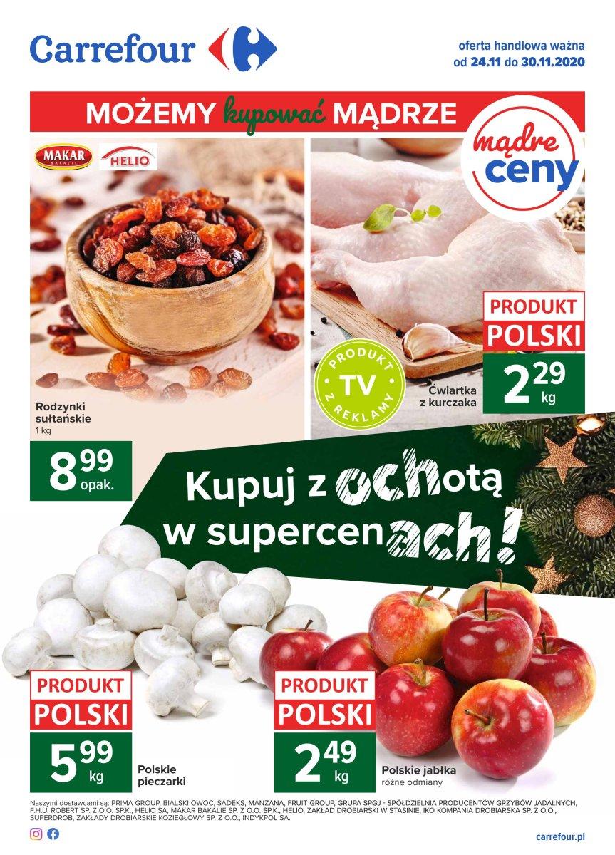 Gazetka Carrefour - Mądre Ceny