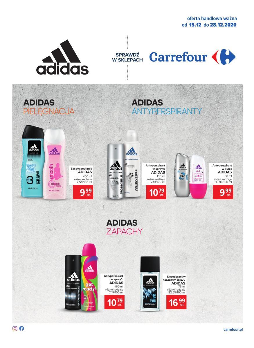 Gazetka Carrefour - Gazetka: Adidas