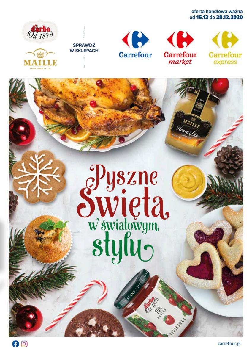 Gazetka Carrefour - Pyszne Święta