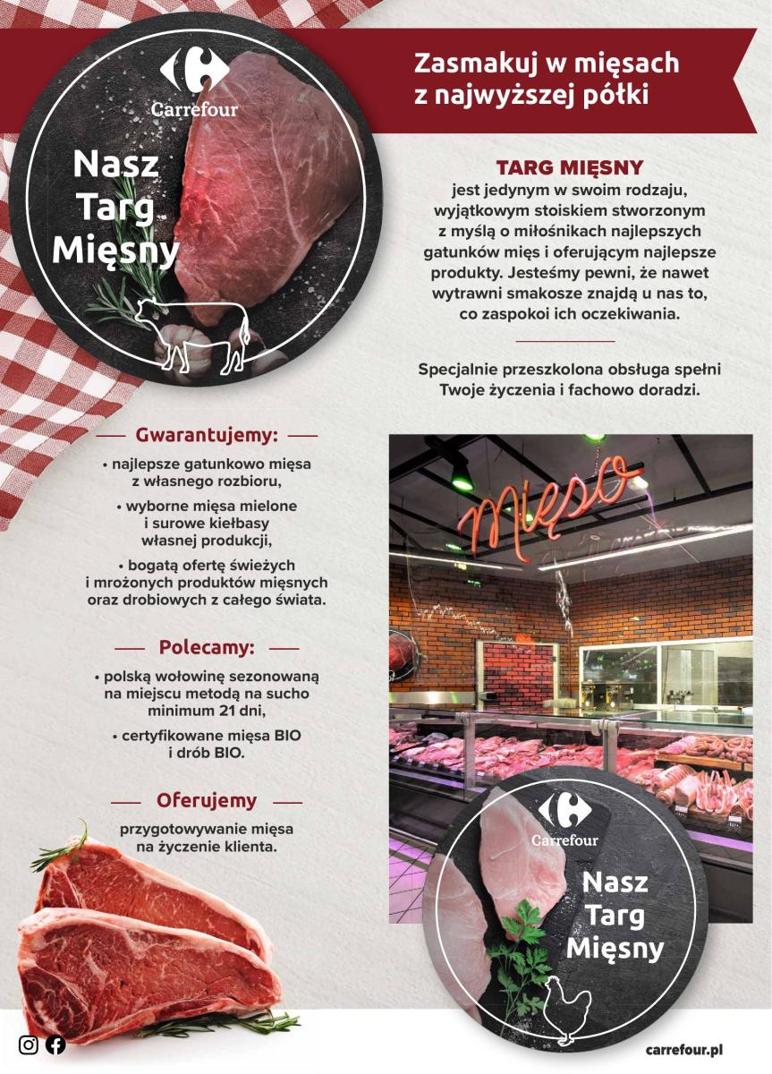 Gazetka Carrefour - Gazetka: Mięsny targ