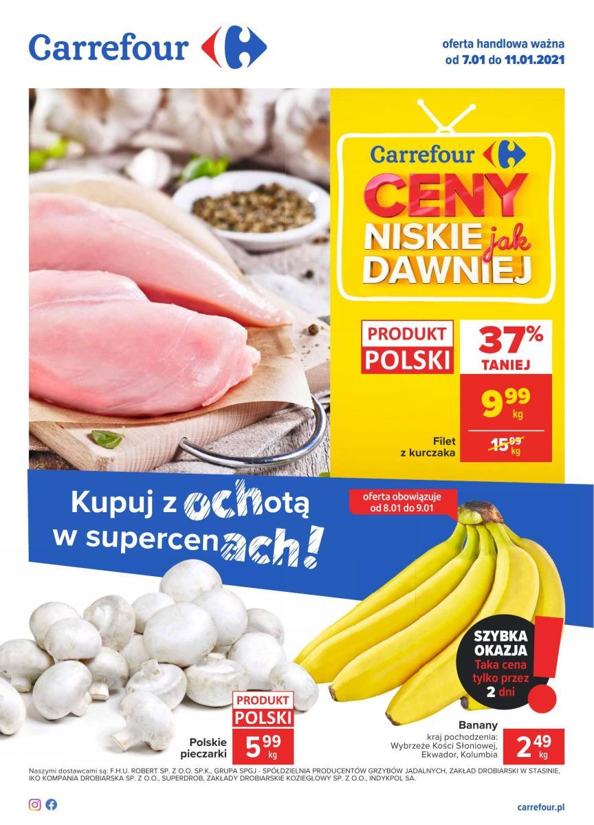 Gazetka Carrefour - Gazetka: kupuj z ochotą w super cenach