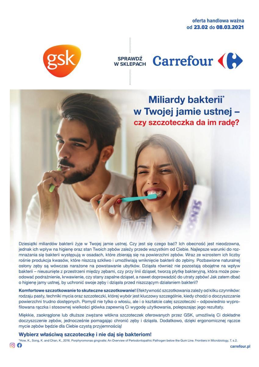 Gazetka Carrefour - Piękny uśmiech