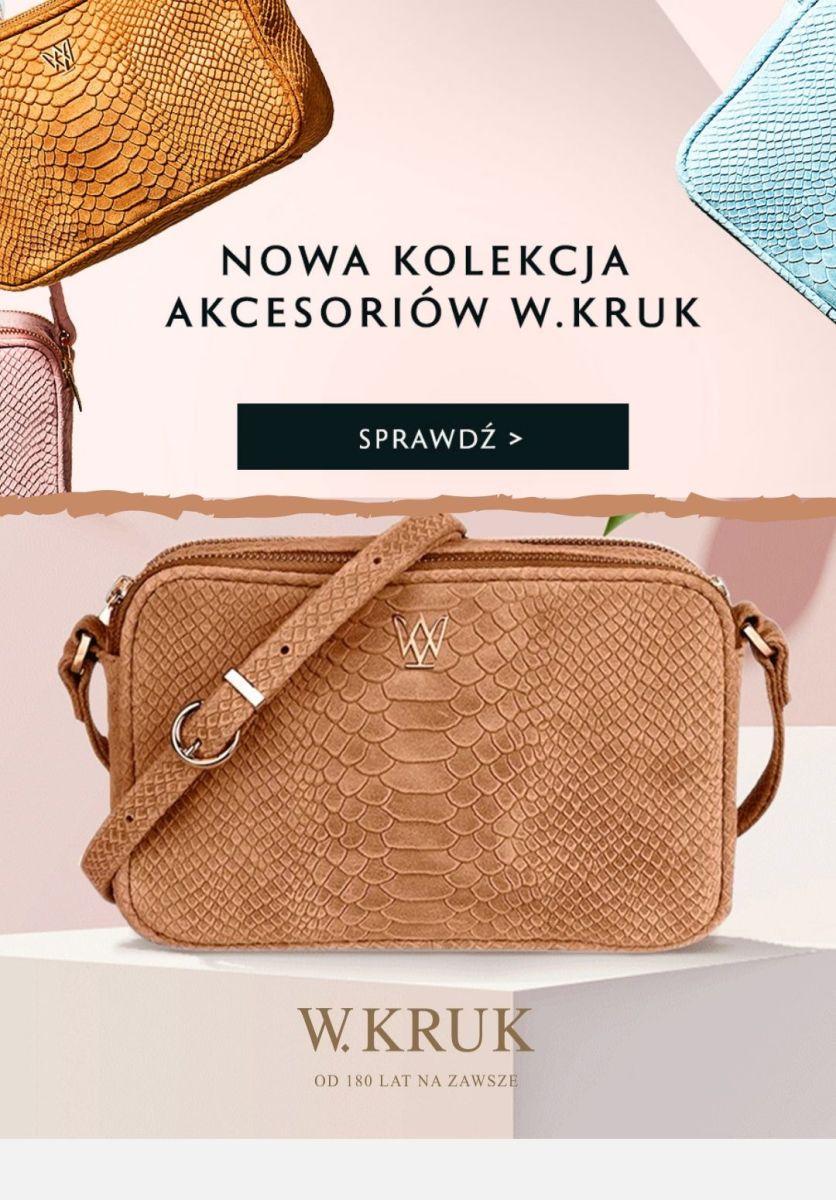 Gazetka W.KRUK - Od 49 zł nowa kolekcja akcesoriów