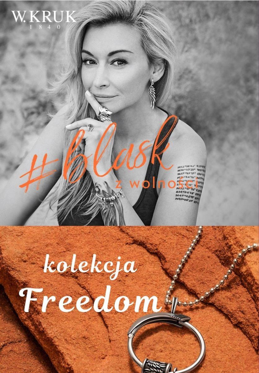 Gazetka W.KRUK - Od 69 zł kolekcja Freedom Martyna Wojciechowska