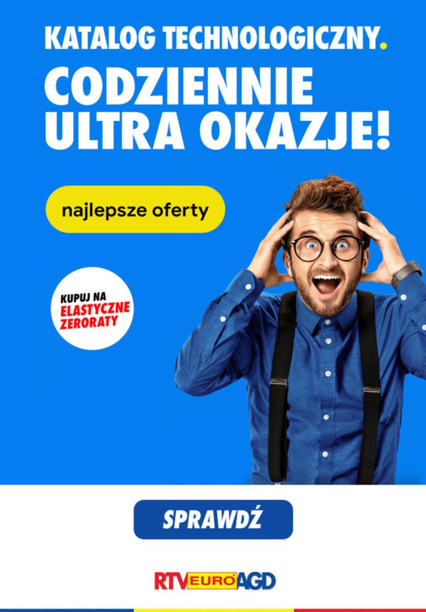 Gazetka RTV Euro AGD - Codziennie ultra okazje: najlepsze oferty