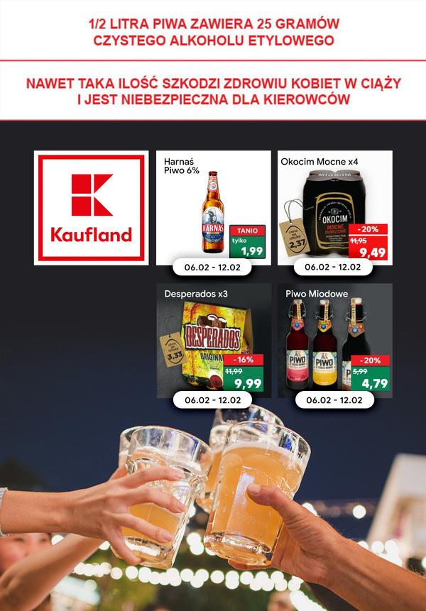 Gazetka Kaufland - Piwa w Kaufland