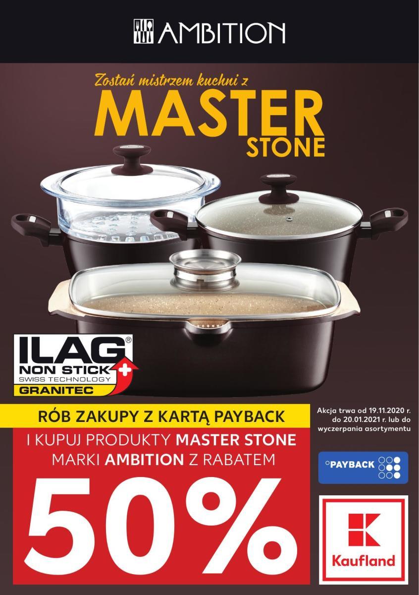 Gazetka Kaufland - Zostań mistrzem kuchni z Master Stone