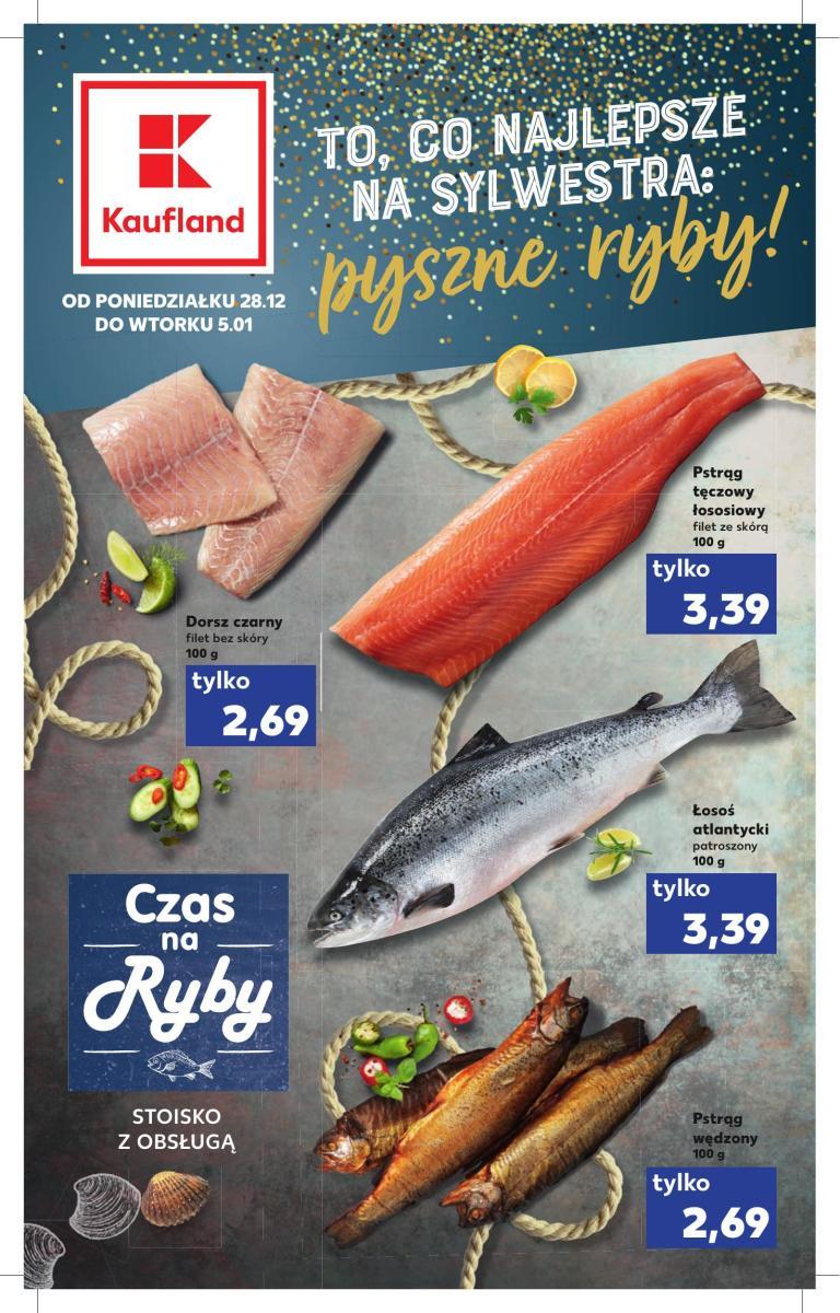 Gazetka Kaufland - To co najlepsze na Sylwestra: pyszne ryby!