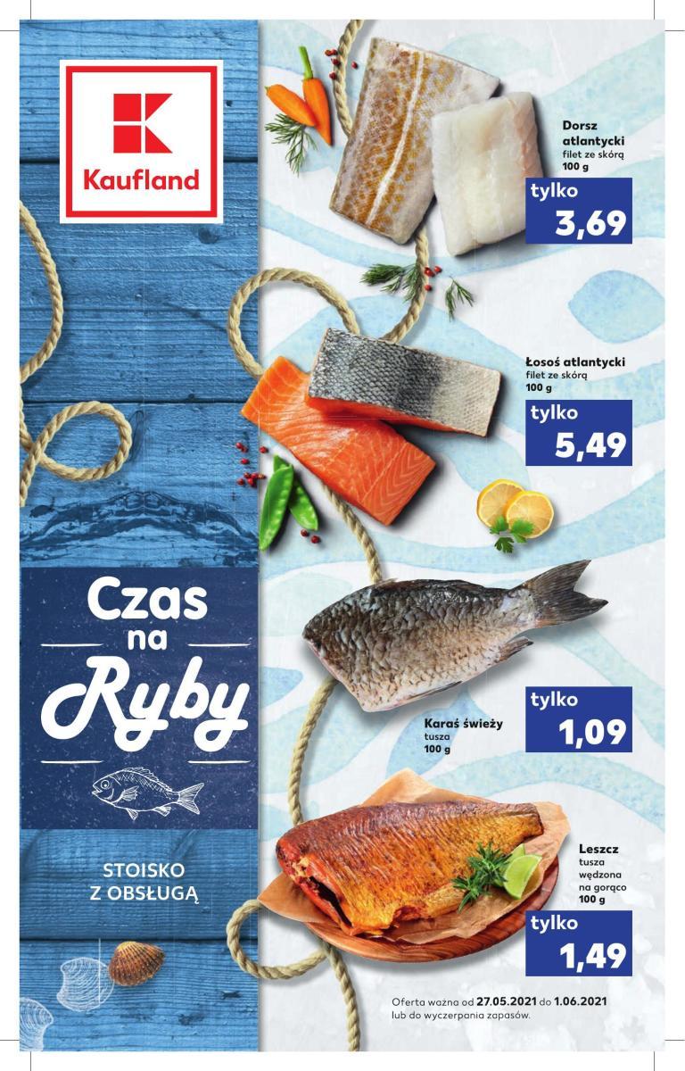 Gazetka Kaufland - Czas na ryby