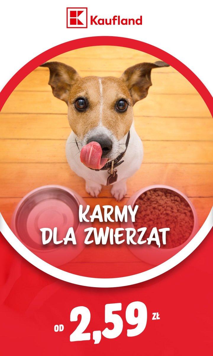 Gazetka Kaufland - Karmy dla zwierząt od 2,59 zł