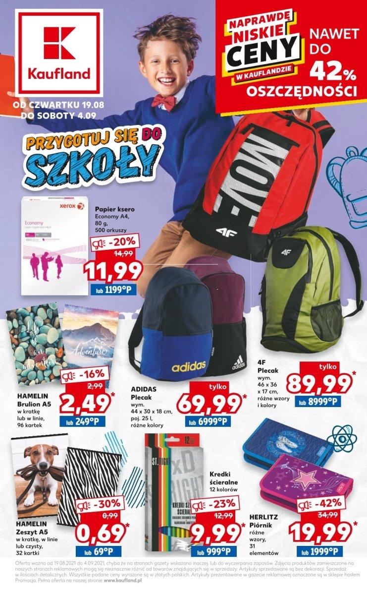 Gazetka Kaufland - Przygotuj się do szkoły