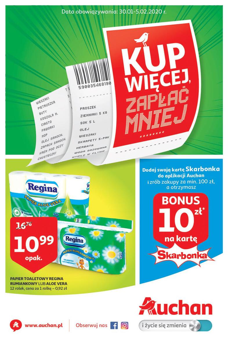 Gazetka Auchan - Kup więcej zapłać mniej - hipermarket