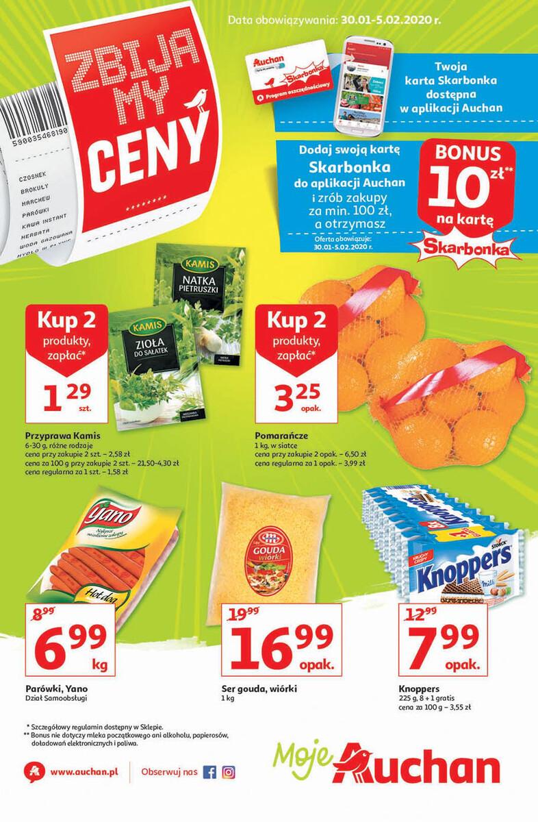 Gazetka Auchan - Zbijamy ceny - Moje Auchan