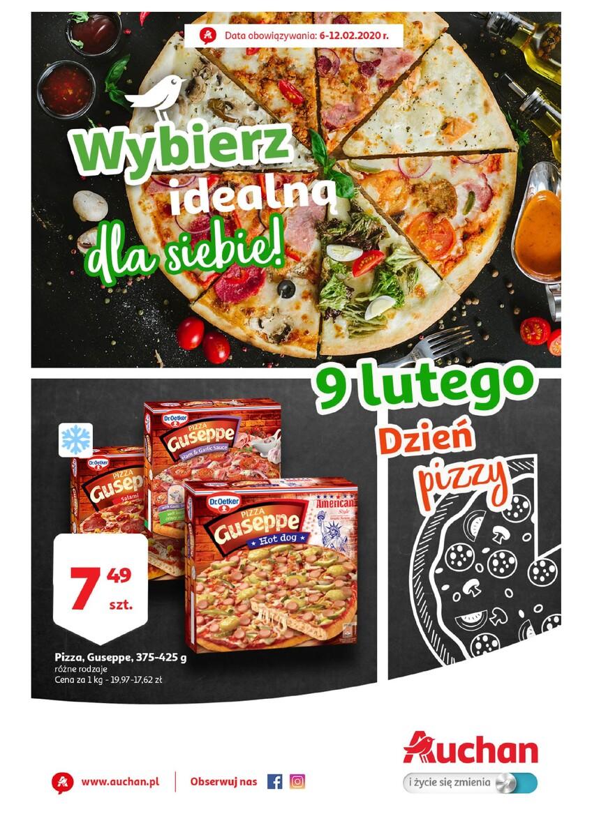 Gazetka Auchan - Wybierz pizzę dla siebie - hipermarkety