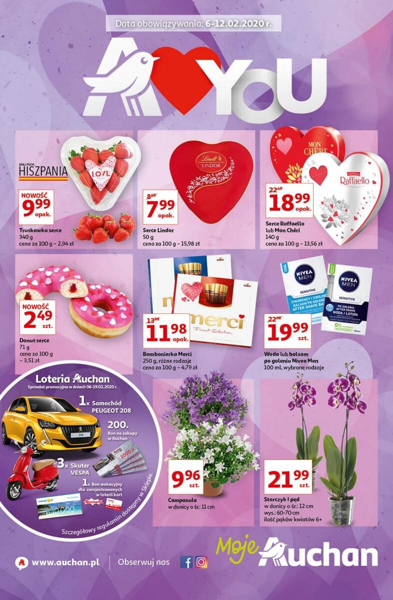 Gazetka Auchan - A love You - Moje Auchan