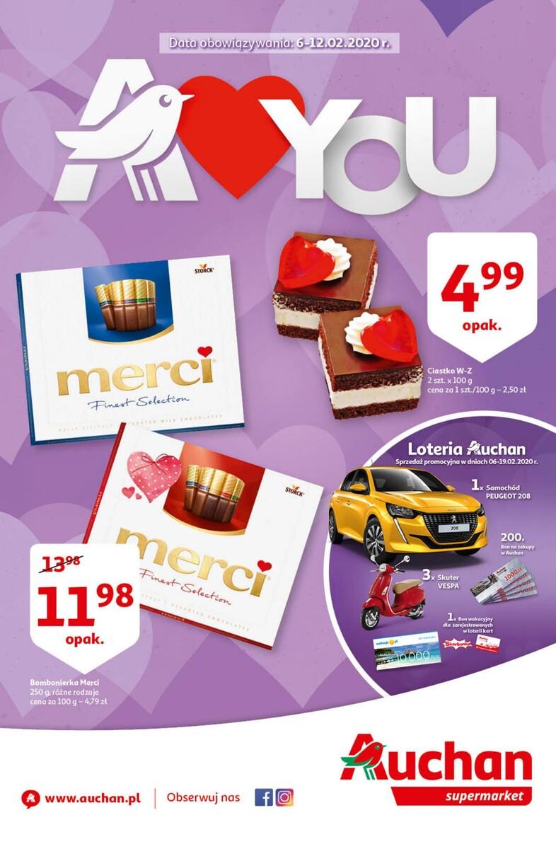 Gazetka Auchan - A love You - supermarket