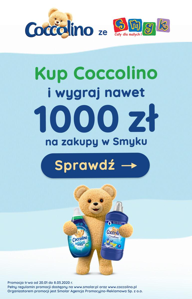 Gazetka Auchan - Kup Coccolino i wygraj 1000 zł na zakupy w Smyk
