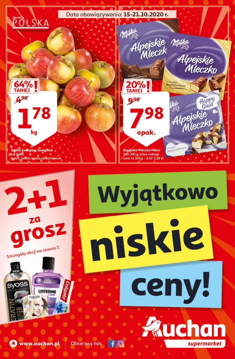 Gazetka Auchan - Wyjątkowo Niskie Ceny! - supermarket