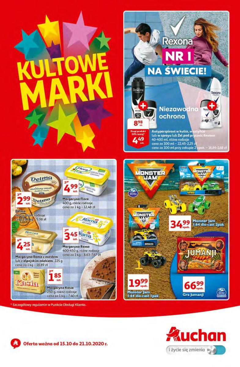 Gazetka Auchan - Kultowe Marki - hipermarket