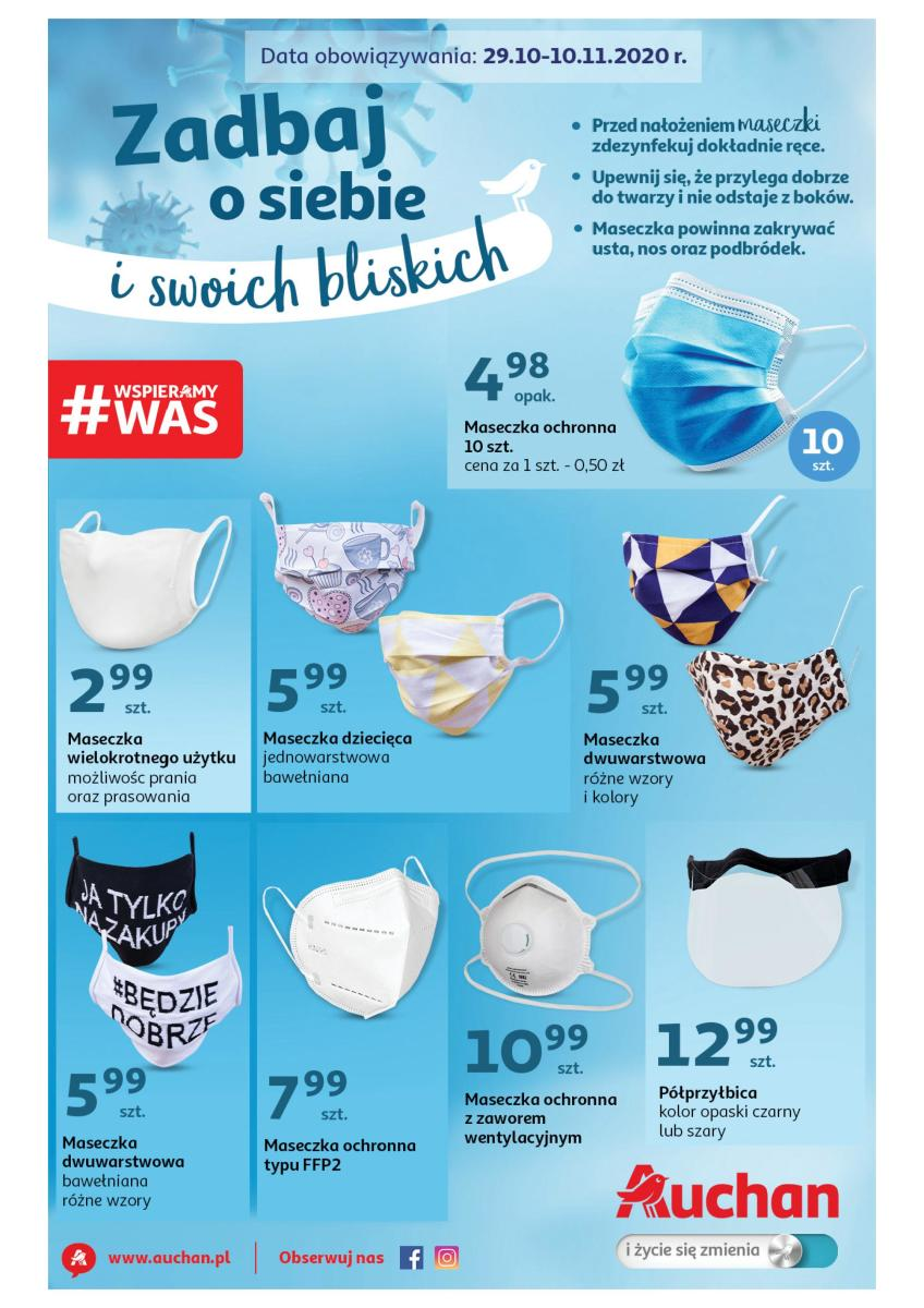 Gazetka Auchan - Zadbaj o siebie i swoich bliskich