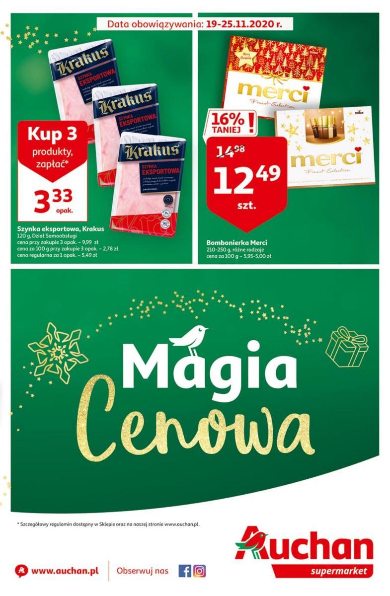 Gazetka Auchan - Magia Cenowa - supermarkety