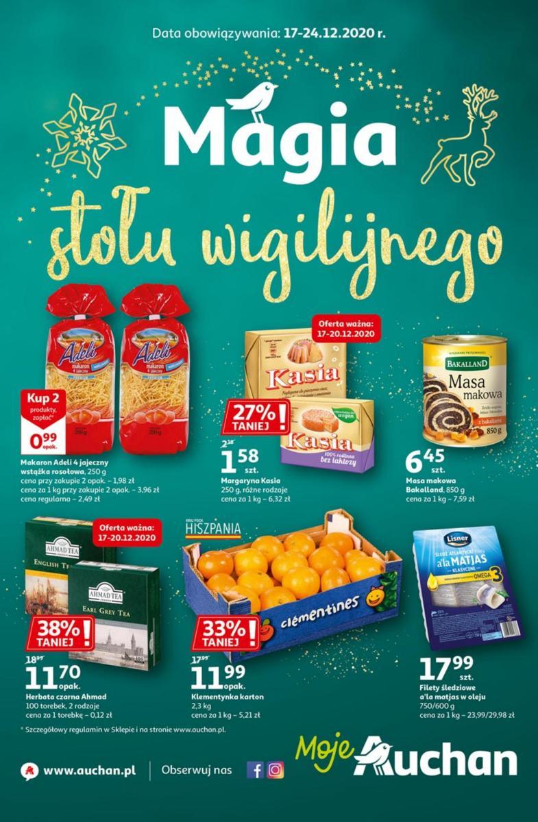 Gazetka Auchan - Magia stołu wigilijnego Moje Auchan