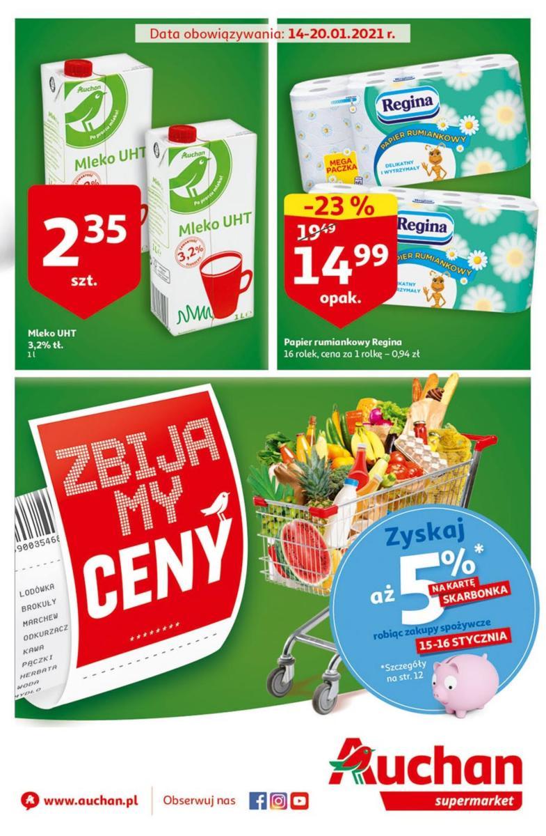 Gazetka Auchan - Gazetka Supermarket