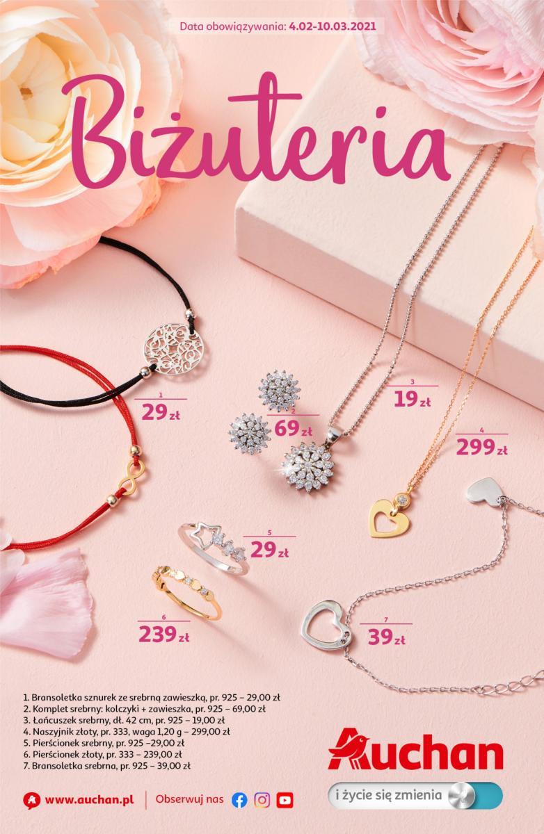 Gazetka Auchan - Biżuteria