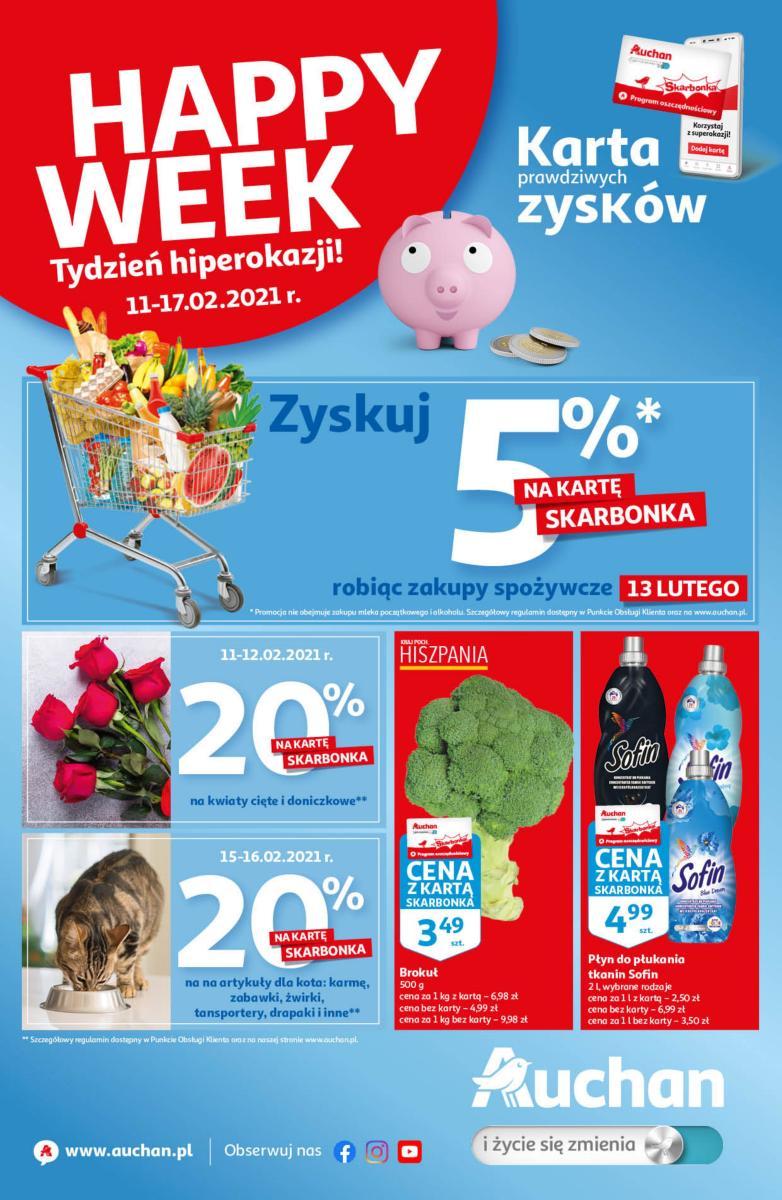 Gazetka Auchan - Tydzień hiperokazji
