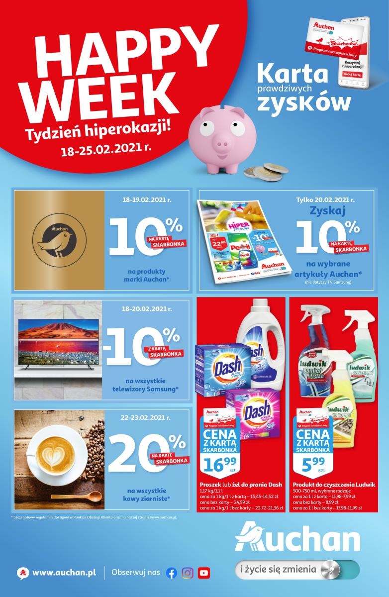 Gazetka Auchan - Happy Week