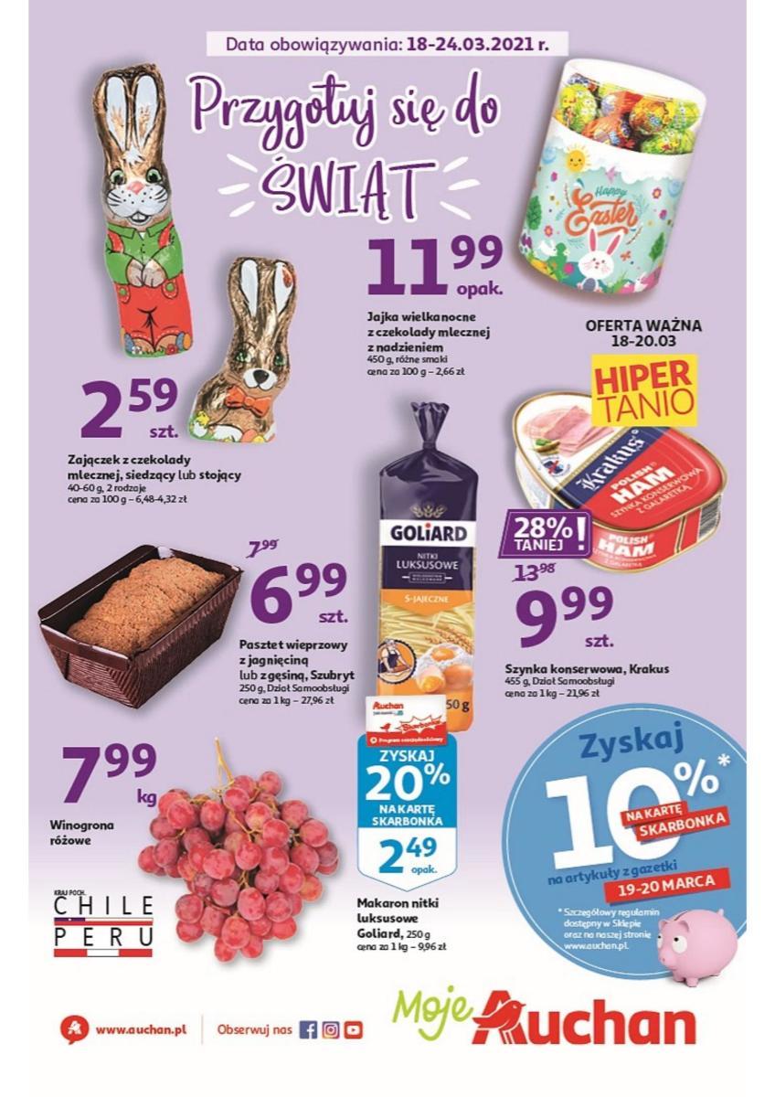 Gazetka Auchan - Przygotuj się do Świąt Moje Auchan