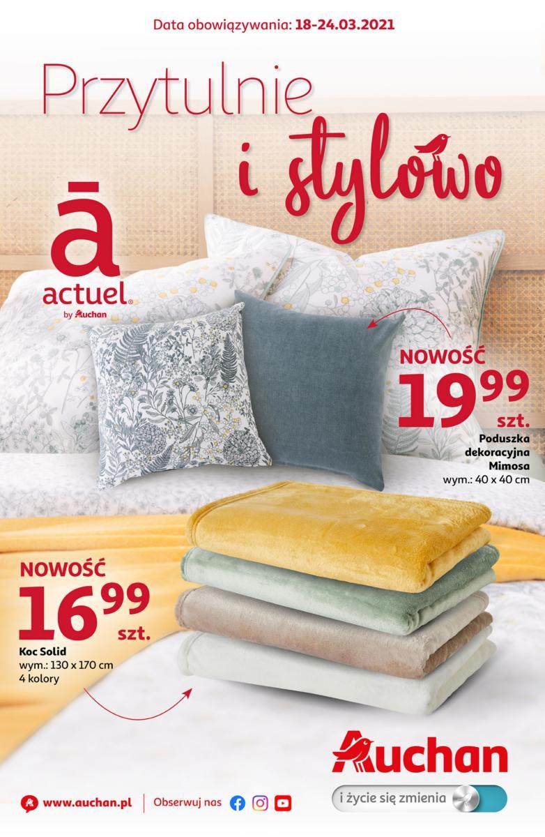 Gazetka Auchan - Przytulnie i stylowo Hipermarkety