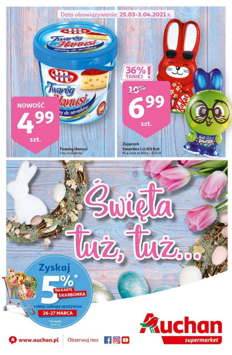 Gazetka Auchan - Święta tuż tuż- Supermarkety