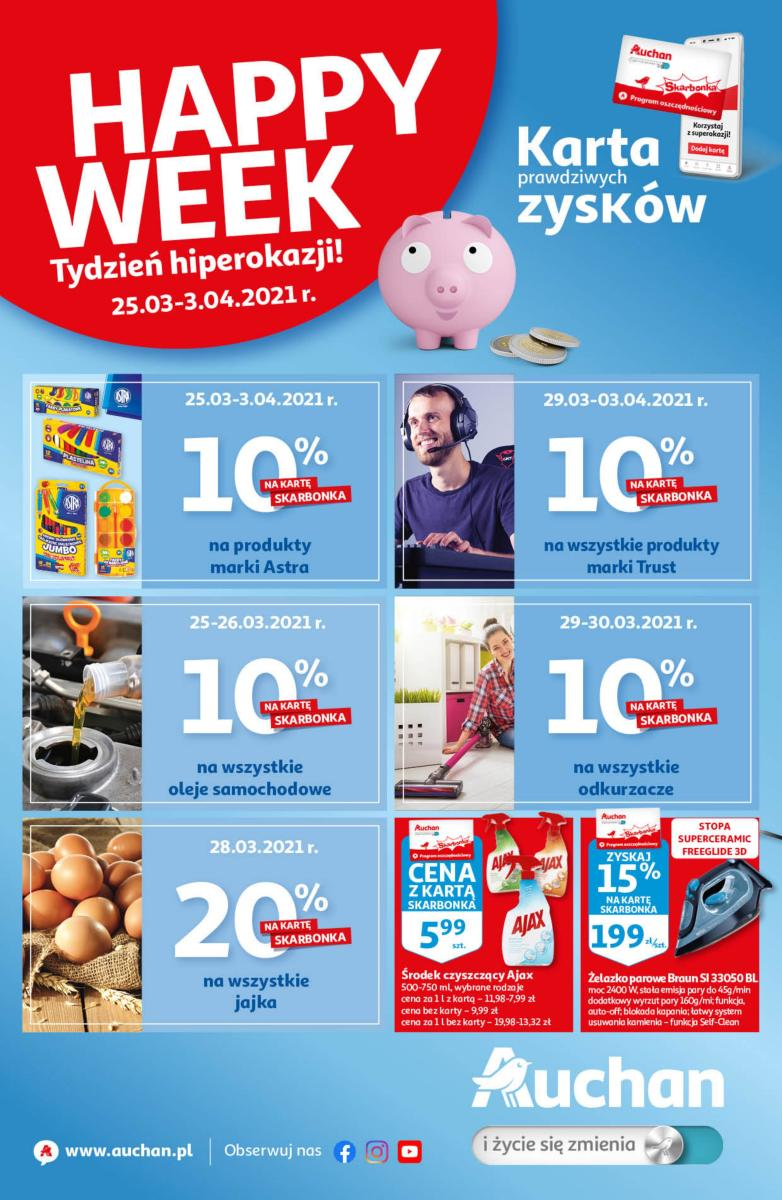 Gazetka Auchan - Happy Week