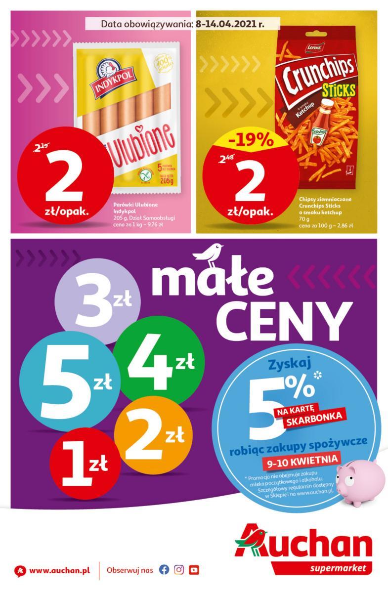 Gazetka Auchan - Małe Ceny Supermarkety
