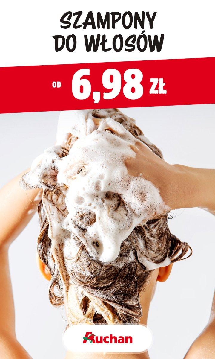 Gazetka Auchan - Szampony do włosów od 6,98 zł